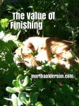 The Value of Finishing