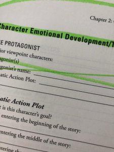 character plot profile