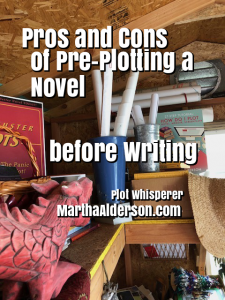 Pros and cons of Pre-plotting a novel before writing