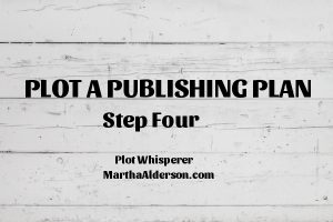 Plot A Publishing Plan