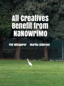 all creatives benefit from NaNoWriMo